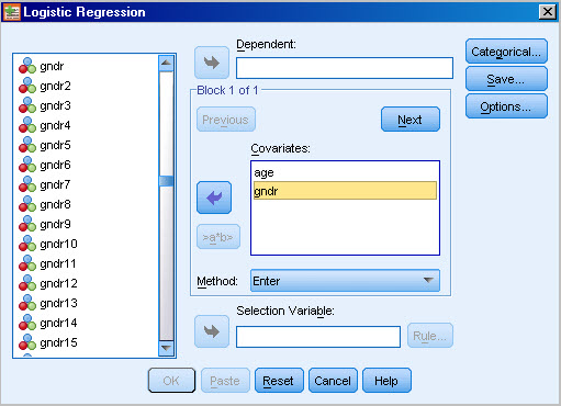 how to run univariate analysis in spss