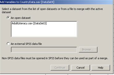 how to find data centroids spss
