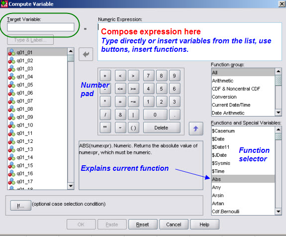Beyond Point and Click: SPSS Syntax
