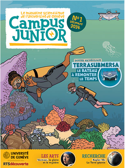 HOW TO GENEVA : New Learn & Science Magazine for kids (8-12