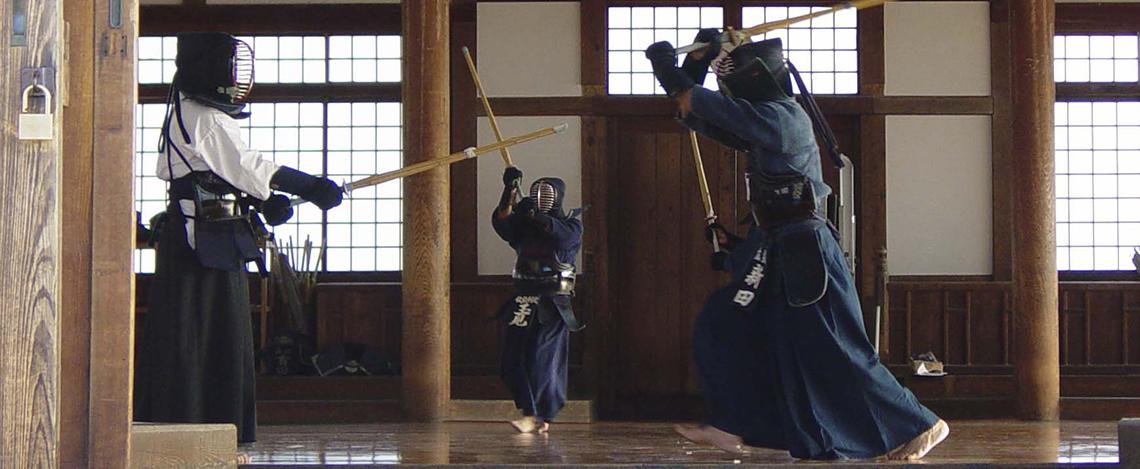 Les sports universitaires ont le plaisir de vous faire participer au Kendo au travers d'un club de la place, le Shung do Kwan.  Dans ce partenariat, le club vous proposera un tarif étudiant et un encadrement professionnel.