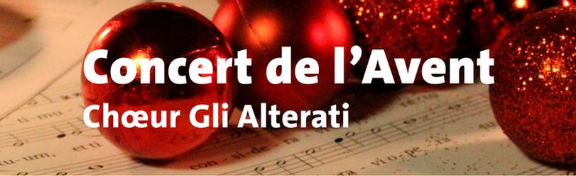Gli Alterati, Concert de l'Avent, décembre 2019
