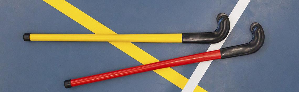 Le unihockey est un sport d'équipe très complet s'inspirant du hockey mais rendu plus accessible pour vous. Il se joue en salle avec une balle en plastique creuse et des crosses.  Ce sport est parfaitement adapté au jeu en mixte. Il  développera votre vitesse, agilité, endurance et coordination pour maîtriser la technique de la crosse.