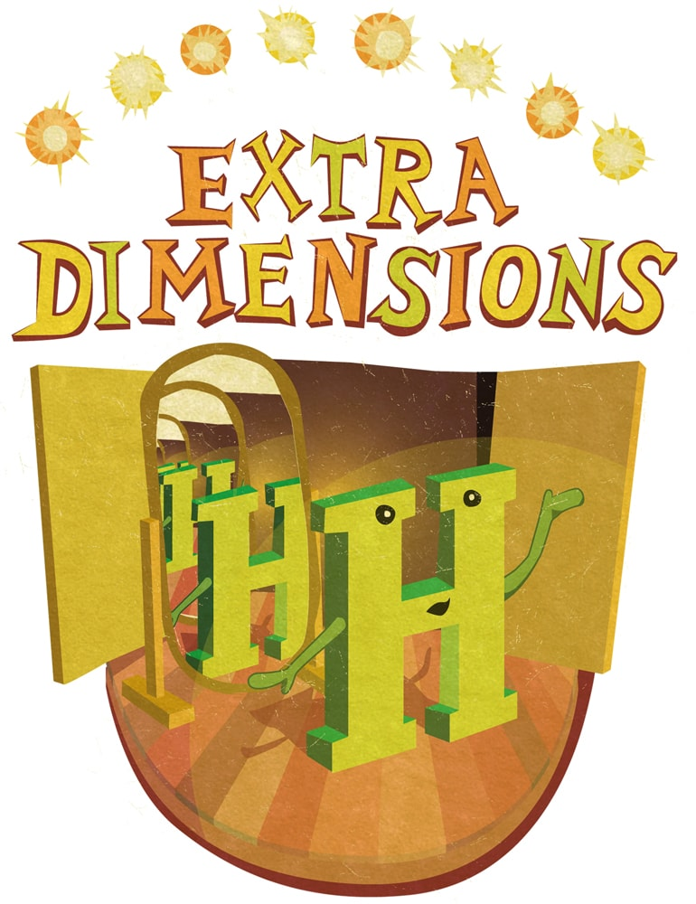 Higgs extra dimensions