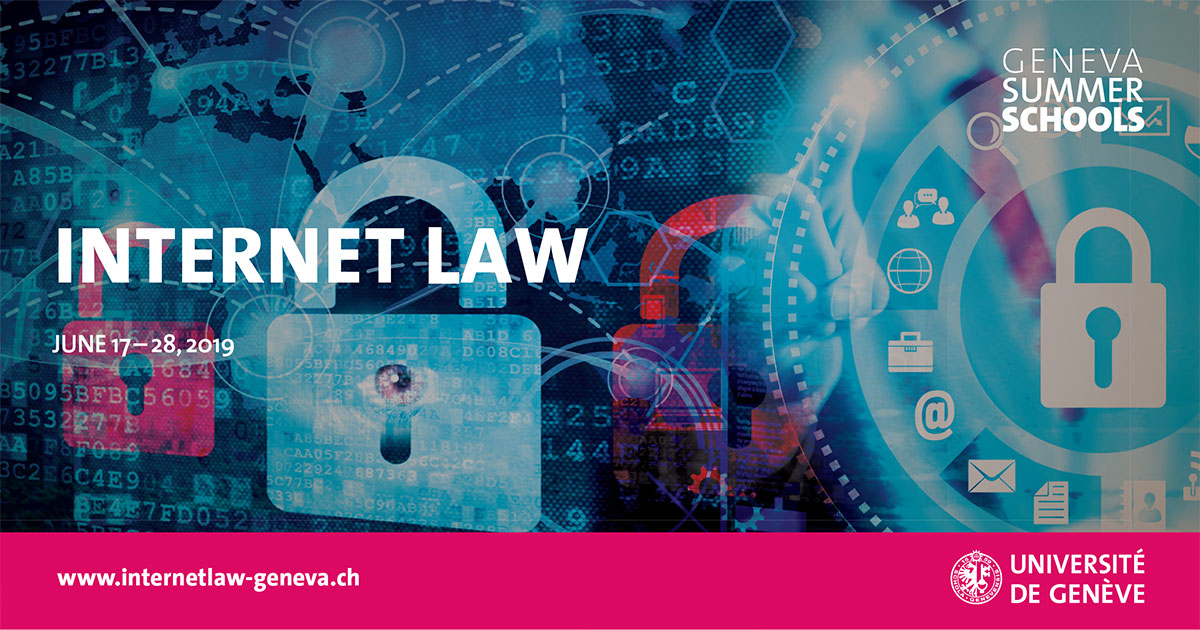 Internet Law Summer School 2019
