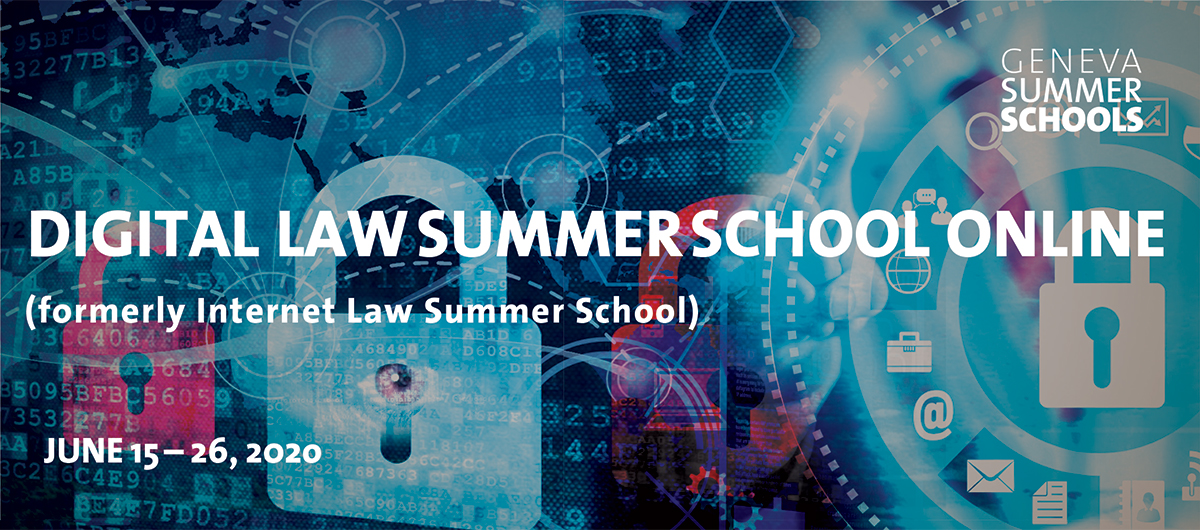 Digital Law Summer School online