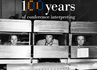 100 years of conference interpreting