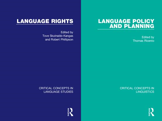 Language Rights - Language Policy and Planning