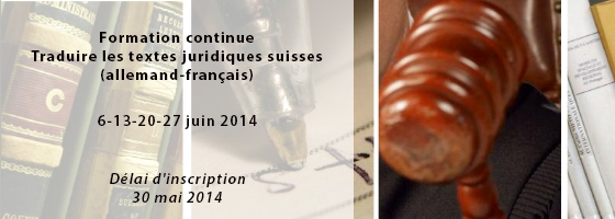 6 juin 2014, Formation continue