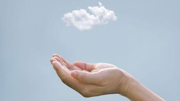 Cloud artistical picture