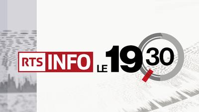 RTS 1 19h30 logo