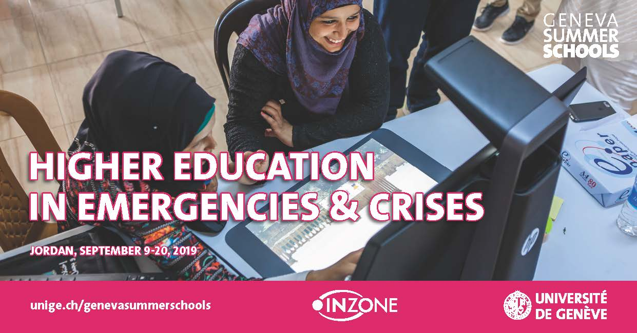 Geneva Summer Schools • Higher Education in Emergencies