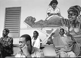 © Alain Kazinierakis - MSF Hôpital au Mali