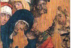Collaborateuir Defendente Ferrari, partie principale du tableau, détail © Musée d'art et d'histoire