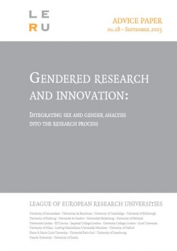 Gendered Research and innovation: Integration sex and gender analysis into the research process