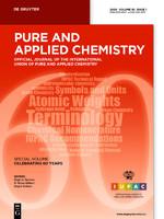 Pure Appl. Chem.