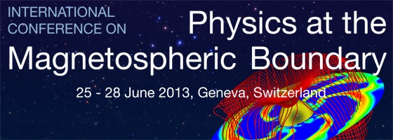 Physics at the Magnetospheric Boundary
