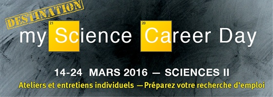 DESTINATION myScience Career Day 2016