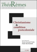 Christianisme et condition postcoloniale